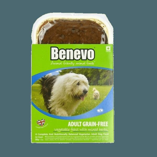 rastlinne mokre krmivo pre psa