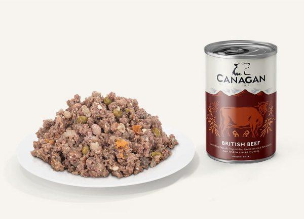 canagan british beef konzerva