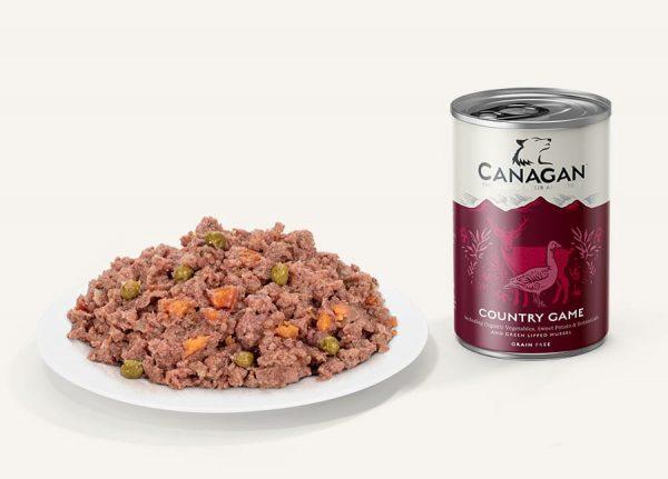 canagan country game konzerva pre psy