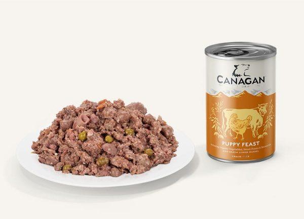 canagan puppy feast konzerva