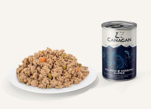 canagan salmon herring supper konzerva