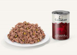 canagan venison wild board konzerva