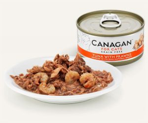 konzerva pre macky tuna krevety