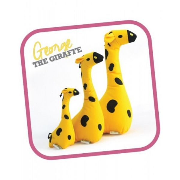 Ekologická hračka pre psa Beco Family George žirafa