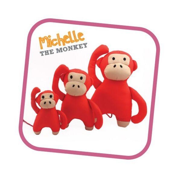 Pískacia ekologická hračka pre psa Beco Family - Opica