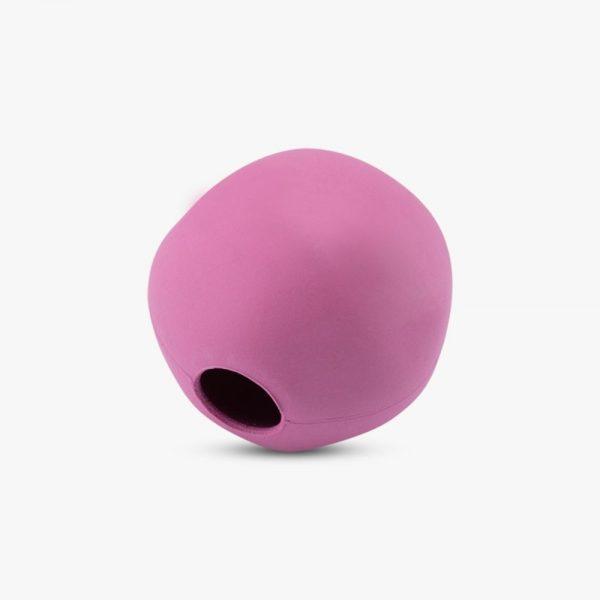 beco ball ekologicka lopticka ruzova