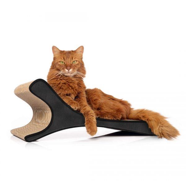kartonove skrabadlo zuzalo feline cierne