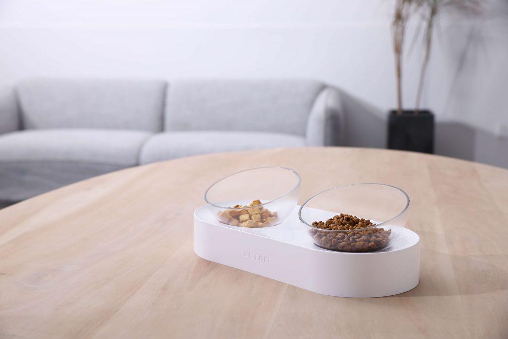 Fresh Nano Adjustable Feeding Bowl double