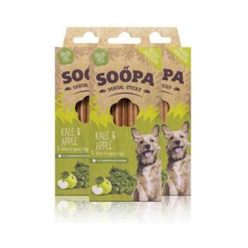 Dentálne pamlsky pre psov Jablko a kel 3pack
