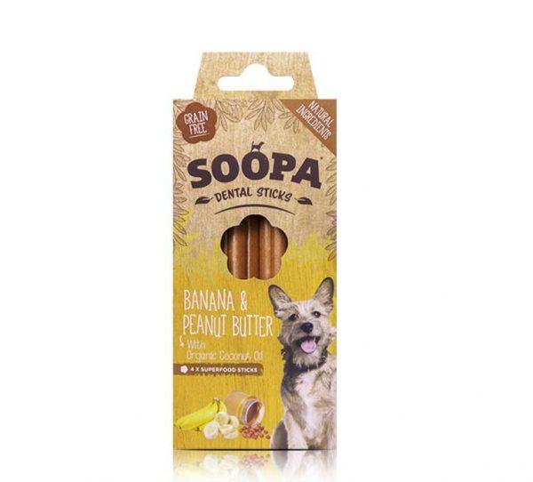 Dentálne maškrta pre psa soopa banan