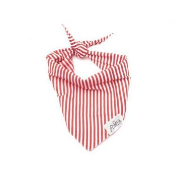 The Red Stripes šatka pre psa
