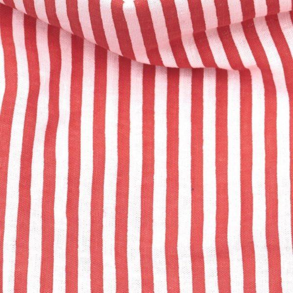 The Red Stripes šatka pre psa detail