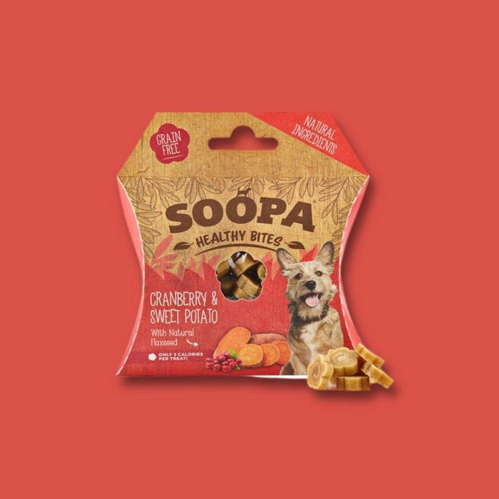 soopa healthy bites brusnice 1