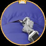 Zimn bunda pre psy Quinzee jacket vlastnosti 1