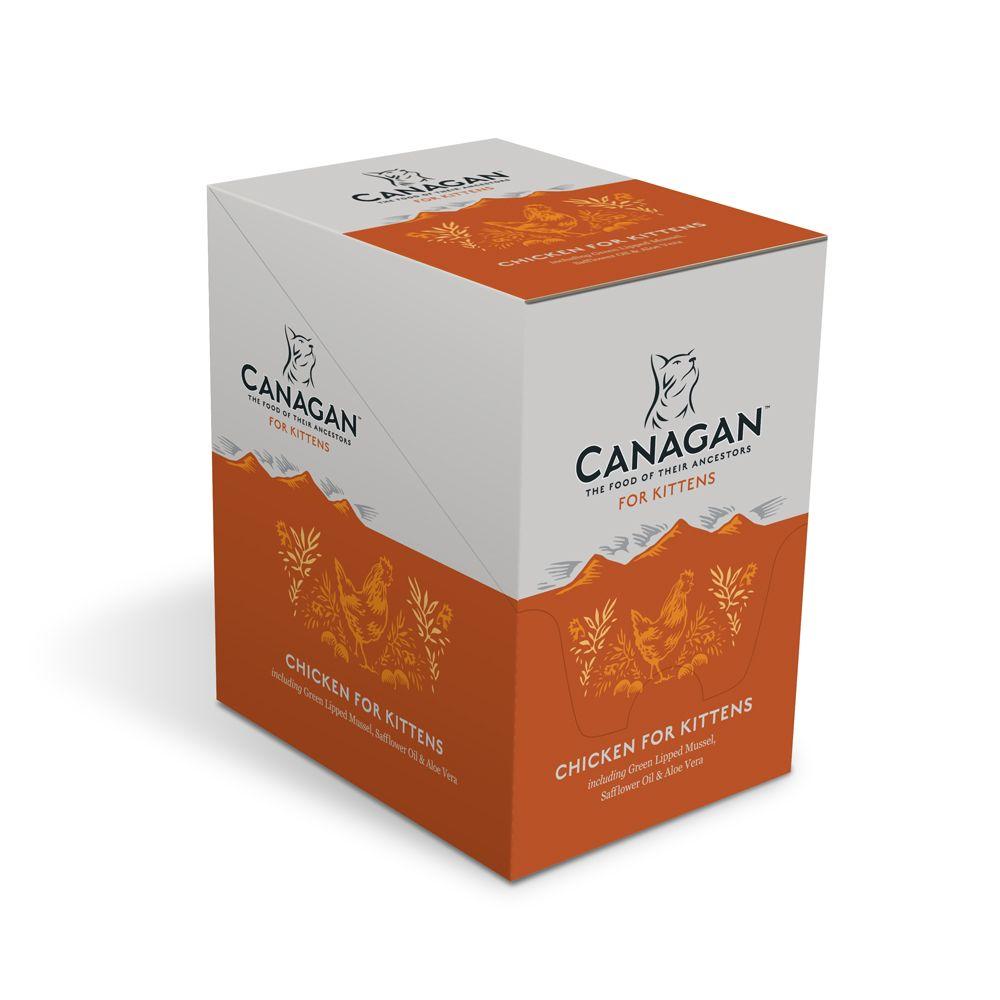 canagan 8 x tasticky pre maciatka