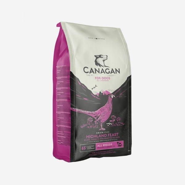 canagan highland feast krmivo pre psov
