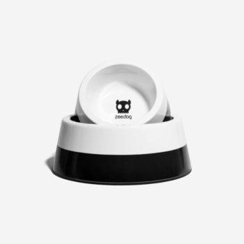 zee dog dog bowl black main 1 1