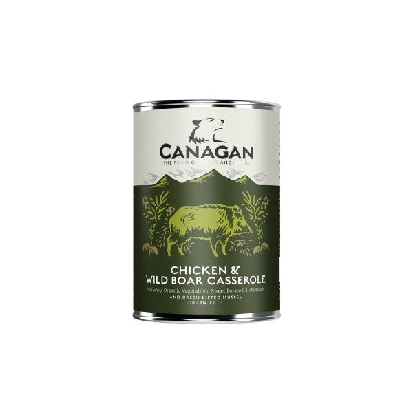 konzerva canagan chicken wild boar