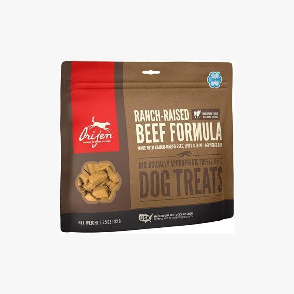 orijen beef formula pamlsky pre psa