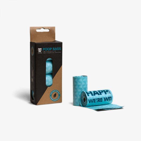 zee dog dog poop bag blue main 1