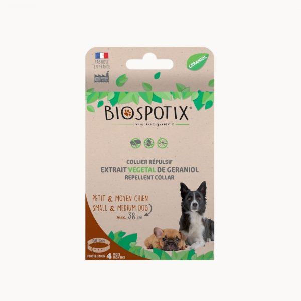Antiparazitický obojok BIOGANCE Biospotix Small dog