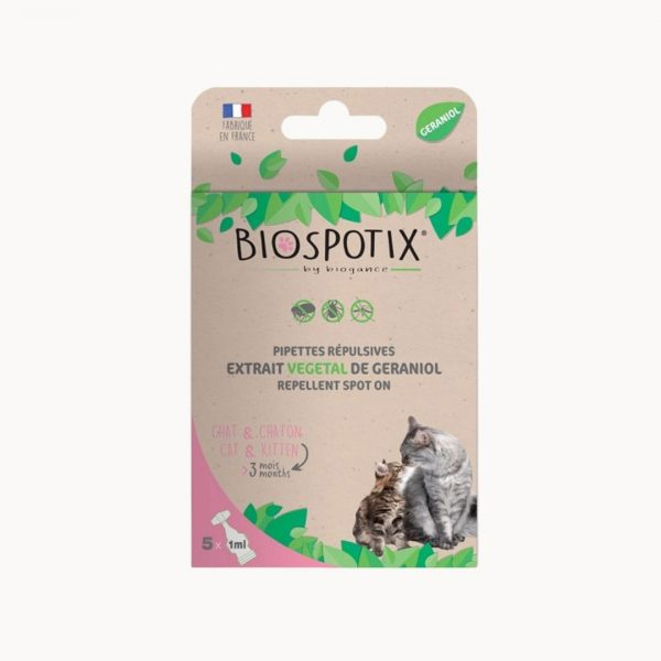 Biogance Biospotix Cat spot on pipety proti parazitom