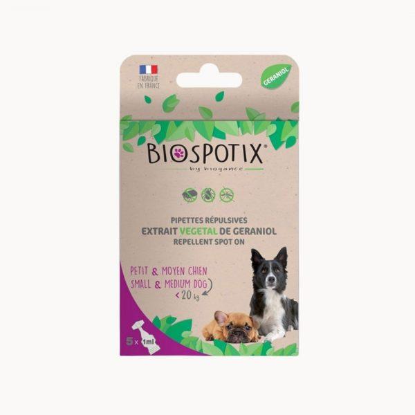 Biogance Biospotix Dog spot on pipety proti parazitom pre malych psov