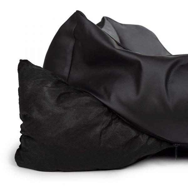 REXSOFBLA Rexproduct Soft Blackzewn. Czarny skaj wewn. Szary nubuk 9