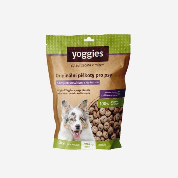 yoggies barf pamlsky pre psa hmyzi protein