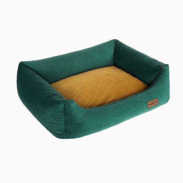 velvet sofa pelech pre psa detail
