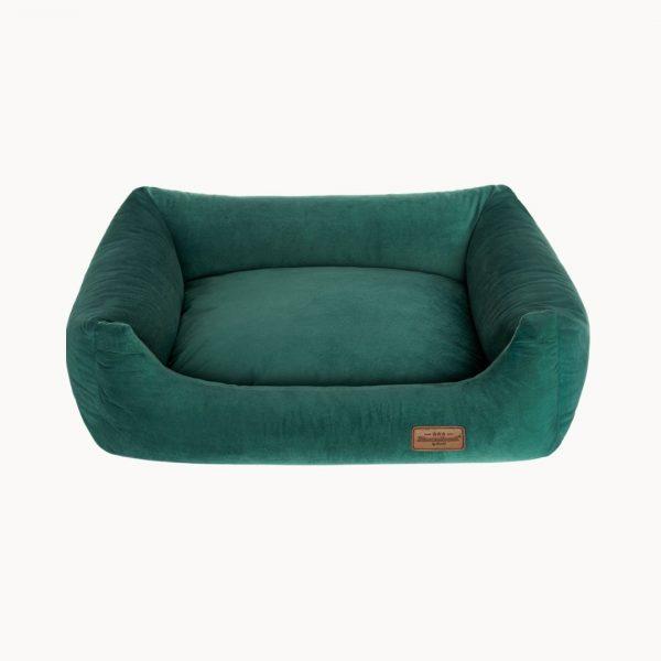 velvet sofa pelech zeleny