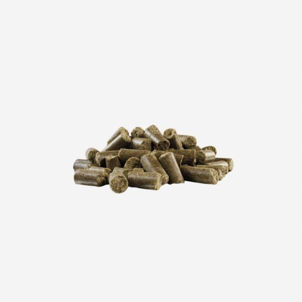 vzorka yoggies za studena lisovane granule