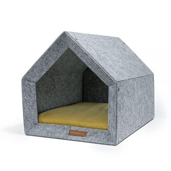 pethome LG domcek pre psa bezovy