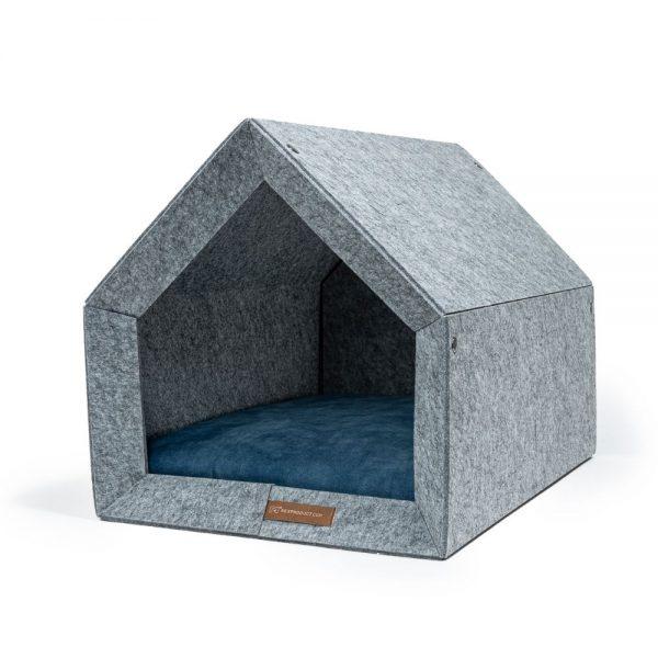 pethome LG domcek pre psa modry