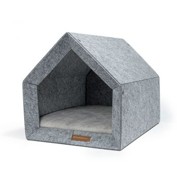 pethome LG domcek pre psa sivy