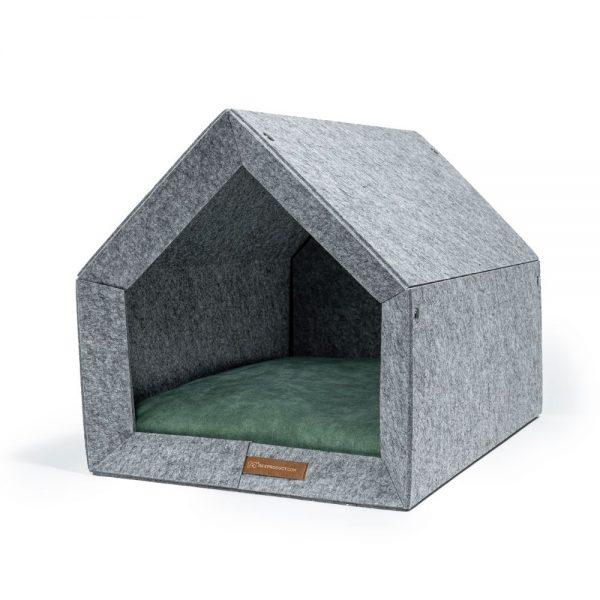 pethome LG domcek pre psa svetlozeleny