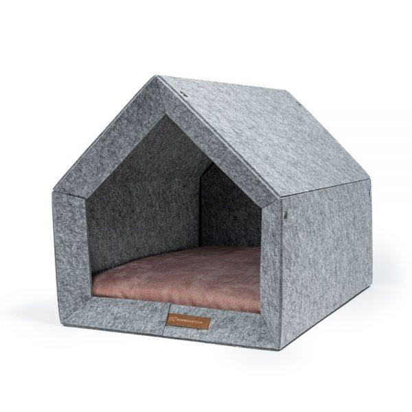pethome LG ruzovy domcek pre psa