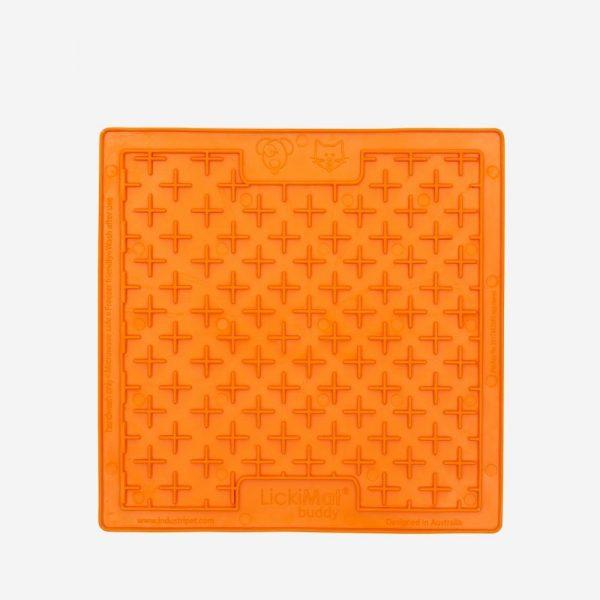 lizacia podlozka lickimat buddy oranzova